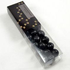 Chokoladelakrids kugler - Salmiak i æske