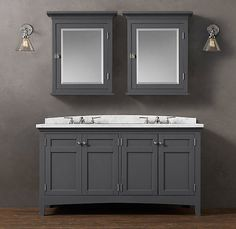 bathroom cabinets restoration hardware