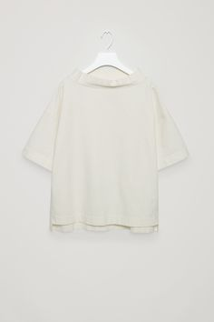 COS | Standing wide-neck top