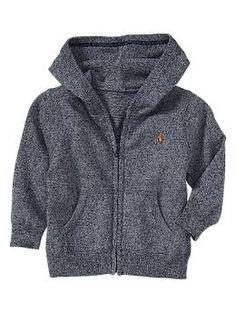 Marled-knit hoodie   Gap $29.95