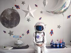 An Astronaut Party! Just beautiful (in french)