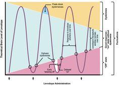 Výsledek obrázku pro peak off dose parkinson