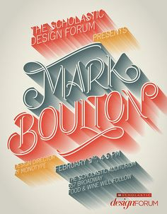 Monotype Poster on Behance