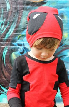 ca6f7a72066 Deadpool was a kid once! Deadpool Halloween Costume