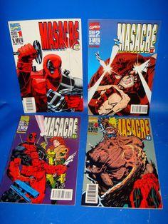Miniserie 4 numeros-MASACRE-comics FORUM-descatalogados