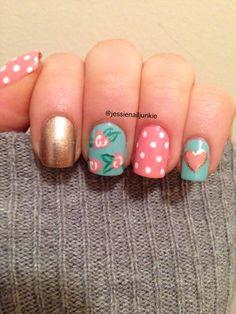 Spring nail design