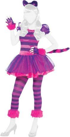 Amscan Alice Nel Paese Delle Meraviglie - Costume Stregatto Teen