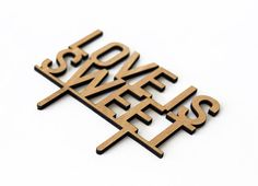 Custom Cake Topper Love is Sweet for Wedding Rustic for by cakeup, $16.00