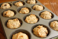 Whole Wheat Irish Soda Bread Muffins - yummy for breakfast and great for St. Patrick's Day.