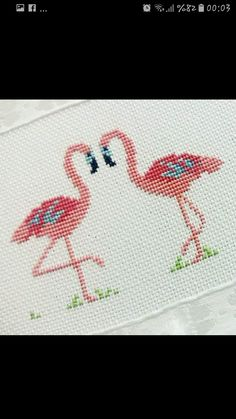 This Pin was discovered by Pay Cross Stitch Patterns Free Easy, Wedding Cross Stitch Patterns, Cross Stitch Borders, Cross Stitch Baby, Counted Cross Stitch Patterns, Cross Stitch Designs, Cross Stitching, Cross Stitch Embroidery, Ribbon Embroidery