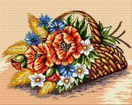 Goblenuri Cross Stitch Needles, Cross Stitch Embroidery, Flower Vases, Flower Art, Fruit Flowers, Nicu, Wallpaper, Baskets, Vases