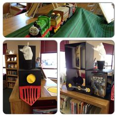 Check out our new train display!