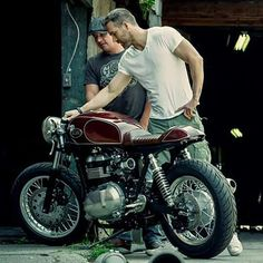 Triumph Thruxton by Kott Motorcycles for Ryan Reynolds