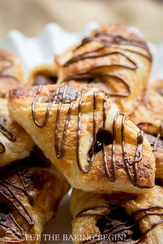 Nutella Puff Pastry Danish is a delicious nutella dessert you will love! This danish recipe has a crunchy yet smooth chocolate taste in every bite. A simple and great puff pastry recipe.