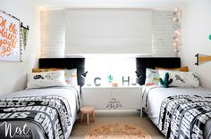 Habitación para 2 niños - Ana Pla - interiorismo y decoración
