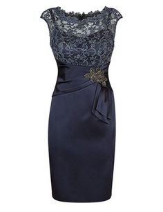 I found some amazing stuff, open it to learn more! Don't wait:http://m.dhgate.com/product/knee-length-navy-blue-mother-of-the-bride/393185498.html