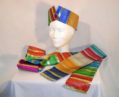 Colorful Wise Man Magi Nativity Headpiece by MerchantAdventurers1