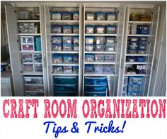 DIY Crafts | Here's how I store and organize my ever-growing collection of craft supplies!