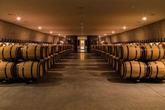 A new cellar at Château les Carmes Haut-Brion, Bordeaux, 2016 - Philippe Starck Architecture Romane, Architecture Baroque, Factory Architecture, Interior Architecture, Philippe Starck, Caves, Chai, Bordeaux Wine, Bordeaux 2016