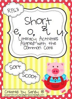 Soaring Through Second Grade: literacy station