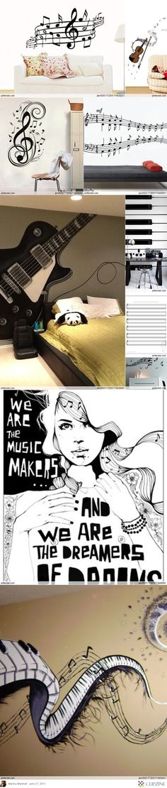"""love the female figure """"we are the music makers""""                                                                                                                                                                                 More"""