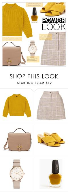 """Power Look"" by lovine ❤ liked on Polyvore featuring Comme Moi, Natasha Zinko, Mulberry, Sam Edelman, ROSEFIELD, J.Crew, girlpower and powerlook"