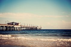 beach photography gulf state park pier gulf shores alabama beach decor blue decor ocean landscape photography