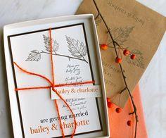 Love Cycle  EcoFriendly Wedding Invitation Suite by BeaconLane, $100.00