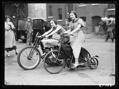 Holden steam motorcycle