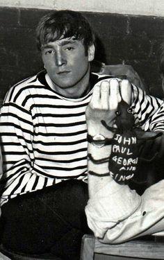 """My name's not John Beatle, it's John Lennon"""
