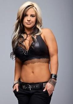Kaitlyn.- WWE Diva. Beautiful woman with the most gorgeous hair I've ever seen!