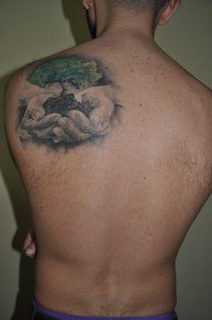 tattoo, idea of protecting the nature