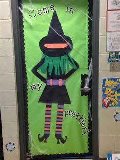 114 best halloween classroom decorations images monsters school rh pinterest com Halloween Door Decorations Halloween School Door Decorating Ideas