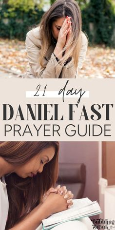21 Day Daniel Fast Prayer Guide. Inspiring prayers for the Daniel Fast or any time of prayer and fasting when you want to experience spiritual growth and dig deeper in your relationship with God. Bible Verses About Prayer, Bible Encouragement, Faith Prayer, God Prayer, Power Of Prayer, Bible Scriptures, Daniel Fast Meal Plan, 21 Day Daniel Fast, 21 Day Fast