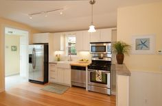 Delightful Cottage Remodel Contemporary Kitchen By Pav Wilkinson   Layout From The  Kitchen Sink To The