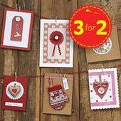 Hobbycraft Card Blanks And Envelopes 5 X 7 Inch Kraft Brown 10Pk   Hobbycraft