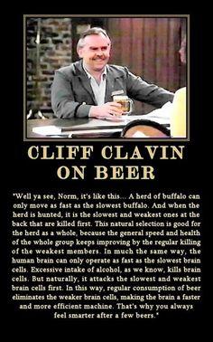 Cliff Clavin.
