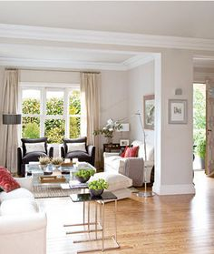 breezy, neutral, light, pops of color