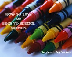 How to Save on Back to School Supplies Photo