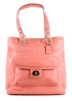 Coach Penelope Leather North South Tote Handbag « Clothing Impulse .. #Pin it to #Win it! Score some #FREE #Coach now!