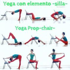 17 Ideas For Yoga Principiantes Silla Yoga Suave, Yoga Props, Easy Yoga Poses, Qi Gong, Restorative Yoga, Iyengar Yoga, Yoga For Kids, Yoga Routine, Yoga Sequences