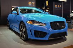 2014 Jaguar XFR-S Front Angle by AntonStetner, via Flickr  #detroitautoshow #naias