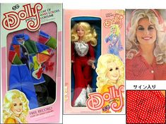 Dolly Parton doll and Coat of Many Colors doll outfit manufactured by Goldberger. Coat Of Many Colors, Dolly Parton, Celebrity, Costumes, Baseball Cards, Dolls, Tv, Outfit, Dolly Patron