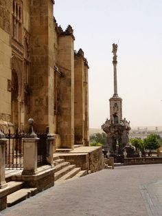 Cordoba, Spain - Mezquita & Angel Raphael