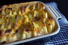 flødestuvede kartofler