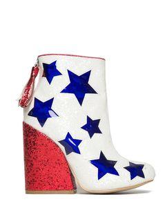 Jem Glitter USA Heel