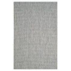"Safavieh Cherwell Outdoor Rug - Grey / Navy (6'7"" X 6'7"") : Target"