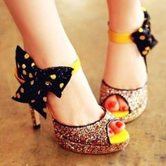 New Designs For Women of Bowknot Foot Wear 2014