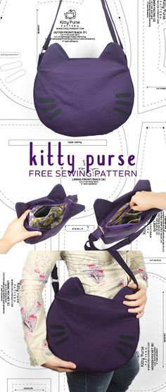 Hey everyone! I decided to take a walk down memory lane today and revisit an old pattern of mine :D I released my Kitty Purse pattern back in October of 2014. It really took off as a popular patter…