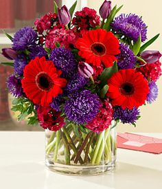 Love the red and purple